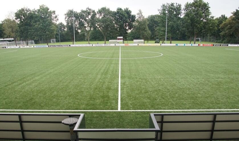 <p>Open dag gaat niet door op complex FC Dinxperlo. Foto: Frank Vinkenvleugel</p>