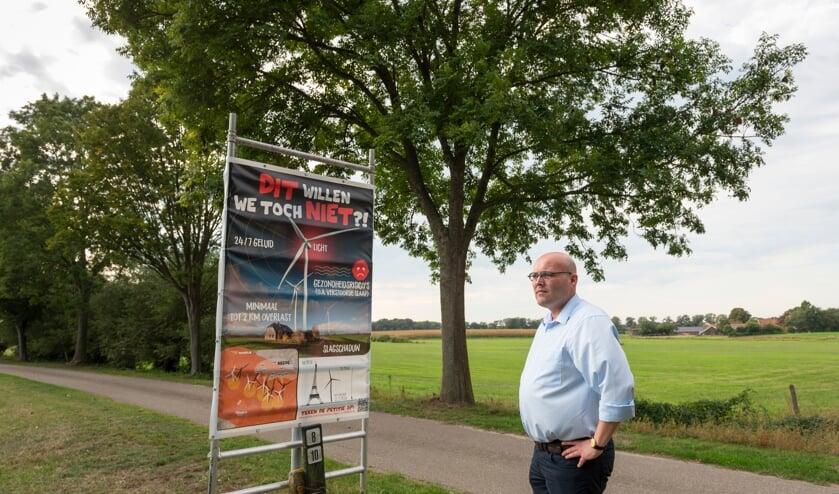 Mark Pot heeft Burgerplatform Berkelland opgericht. Foto: Cees Elzenga - hetoog.nl