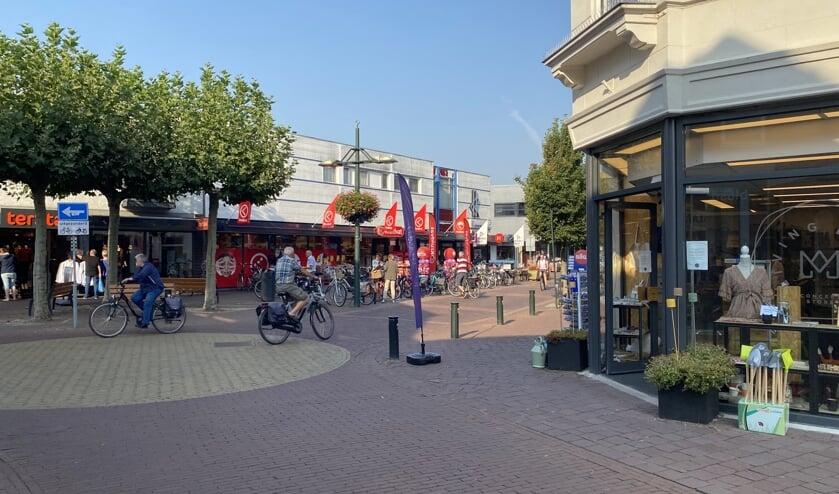 Haaksbergen heeft een gezellig centrum. Foto: PR
