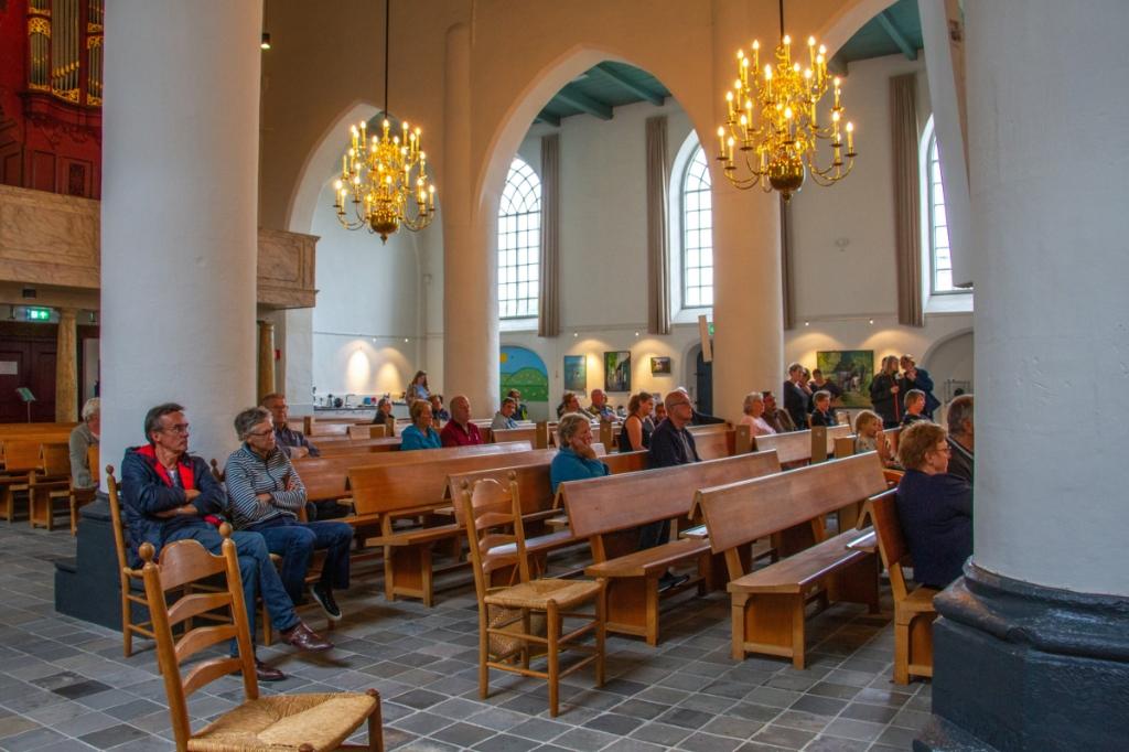 Tijdens de Open Monumentendagen Bronckhorst genoten liefhebbers van muziek in de kerk. Foto: Liesbeth Spaansen  © Achterhoek Nieuws b.v.