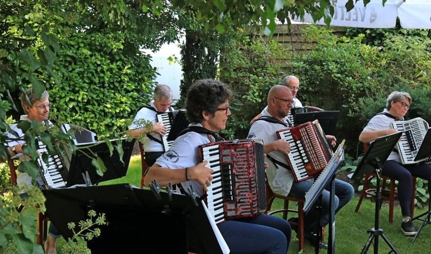 Accordeonvereniging VAV viert 60-jarig jubileum. Foto: Achterhoekfoto.nl/Marja Sangers-Bijl