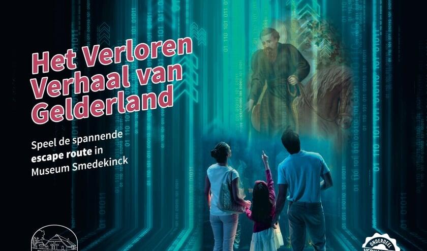 Het Verloren Verhaal van Gelderland, nieuwe escape route bij Museum Smedekinck