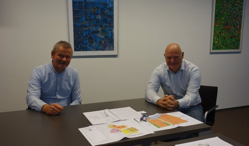 Links René Nijland, rechts. Rik Gommers. Foto: Clemens Bielen