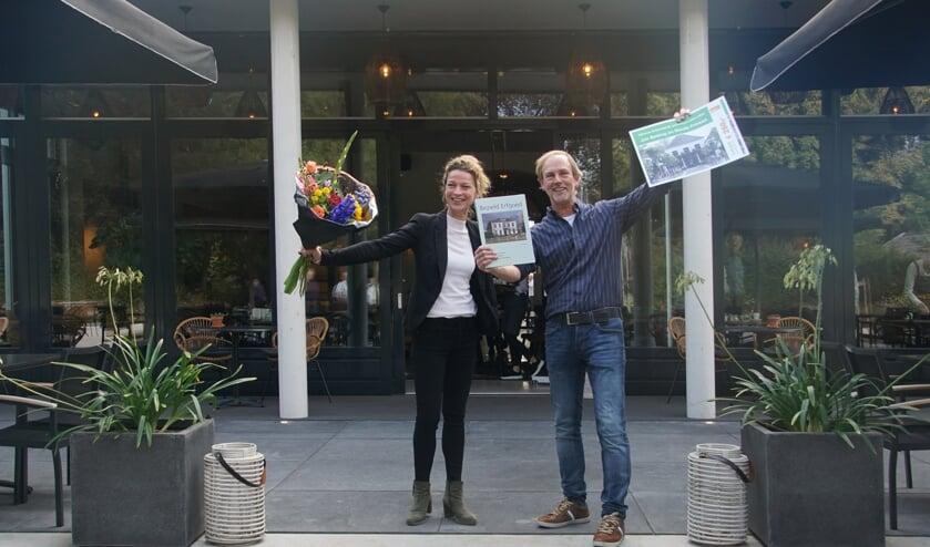 <p>Jos Betting en Nicole Prinsen wonnen de prijs in 2020. Foto: Frank Vinkenvleugel</p>