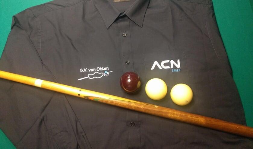 Het nieuwe tenue van BV Van Ommen. Foto: PR