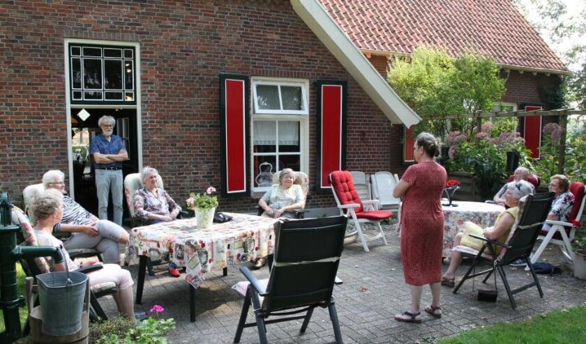 Cantorij te gast bij Ineke van der Werfs Sfeer van Weleer. Foto: Dick Lammers