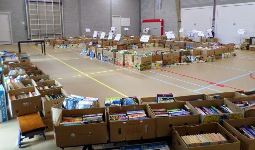 De boekenhal van Excelsior. Foto: PR