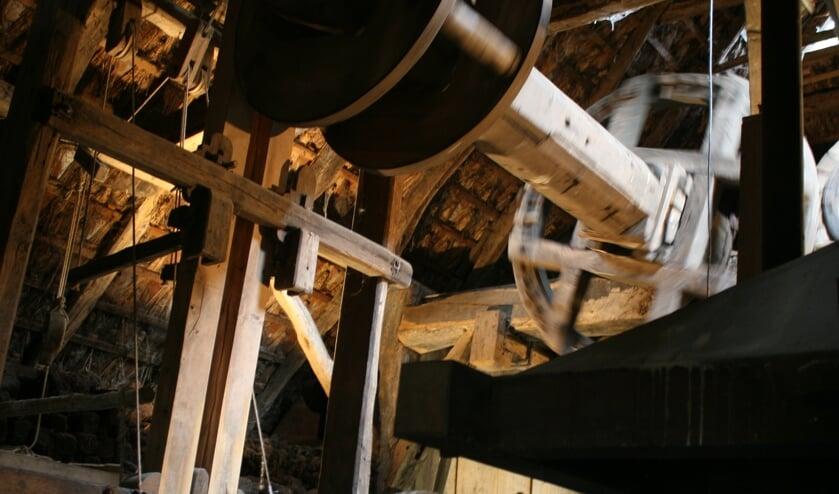 <p>Ros olie-molen in openlucht museum Erve Kots. Foto: Jos Betting/archief Achterhoek Nieuws</p>
