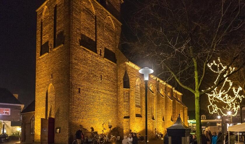 De kerkklokken luidden het nieuwe jaar in. Foto: PR