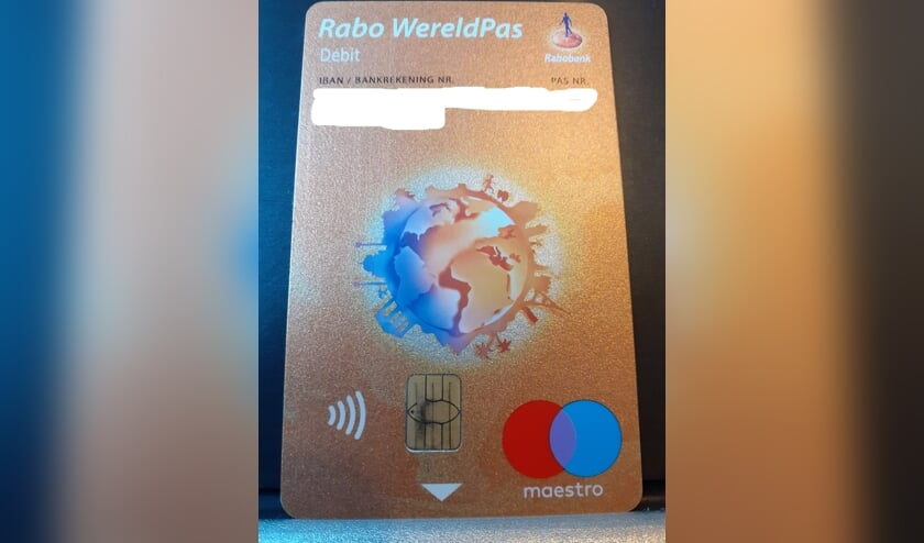 Er is een Rabobank-pas gevonden in de Hogestraat in Dinxperlo. Foto: PR
