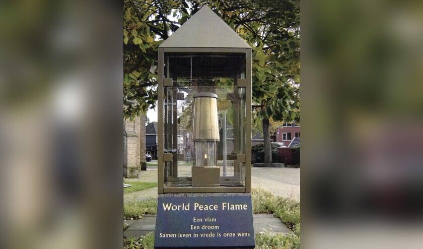 World Peace Flame Bronckhorst. Foto: Werkgroep WPFB