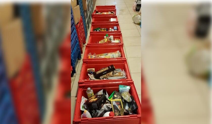 Grote opbrengst bij de laatste inzameling voor de Voedselbank. Foto: PR