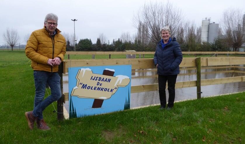 Bestuursleden Martje Eggens en Martin Nieuwenhuis. Foto: Rob Weeber