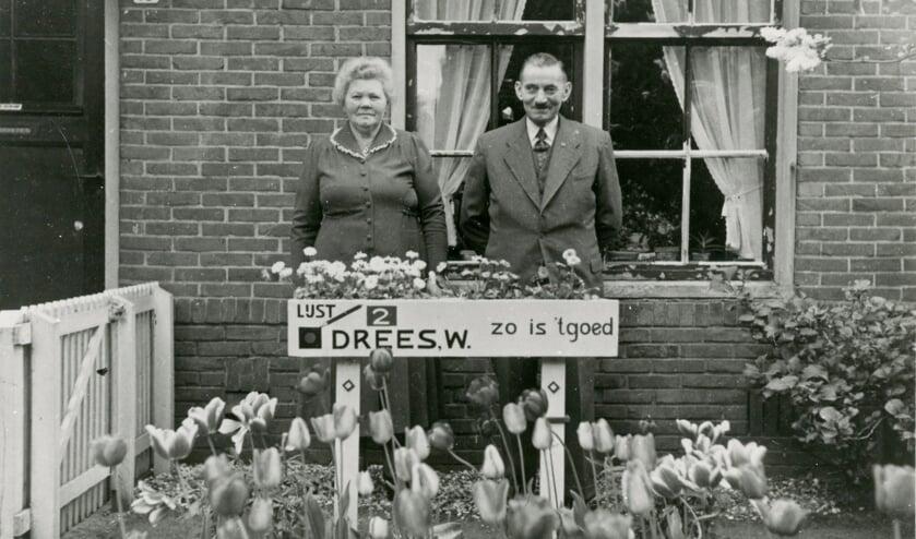 De PvdA van Willem Drees behaalde in Winterswijk bij de kamerverkiezingen 1952 de helft van de stemmen (49,5%). Drees was ook de keuze van de familie Huiskamp. Foto: International Institute of Social History (ISG)
