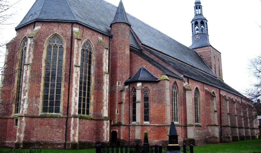 De Oude Calixtuskerk in Groenlo, waarin het Museum 1627 gerealiseerd moet worden. Foto: Theo Huijskes