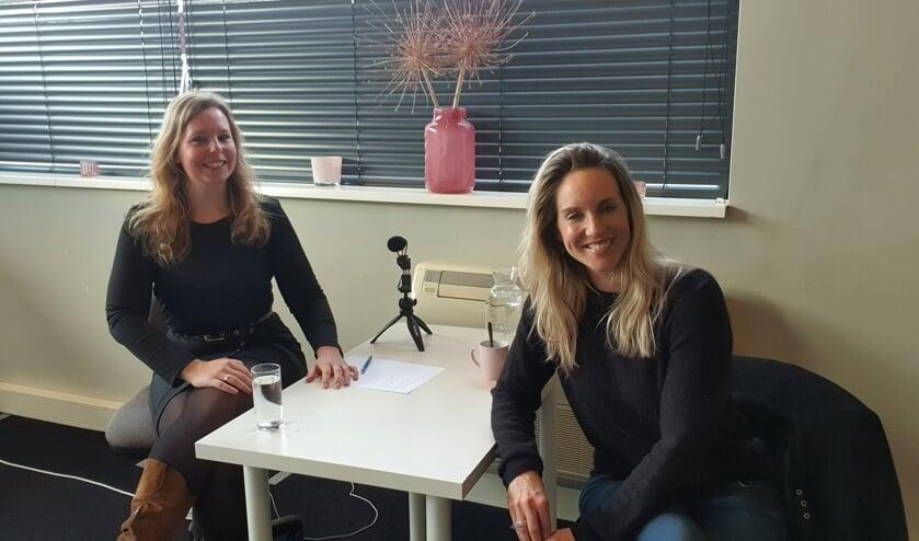 Mariëlle Hukker maakt podcasts. Foto: Eigen foto