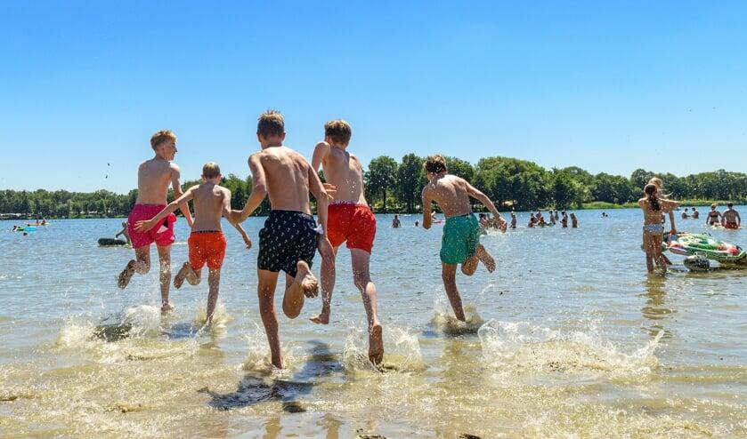De stranden werden goed bezocht. Foto: Adelaar Fotografie