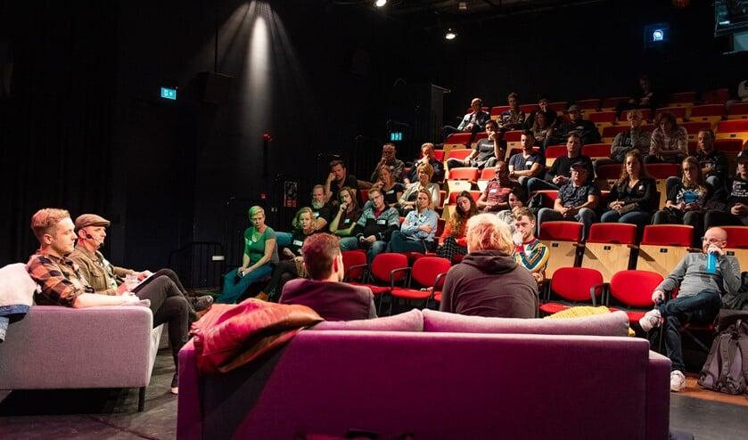 In Amphion is op zaterdag 23 oktober de Muziek Meeting Achterhoek. Foto: Egbert Middelink