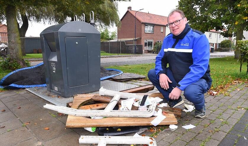 Flip Jonker is afvalcoach van de gemeente Oude IJsselstreek. Foto: Roel Kleinpenning