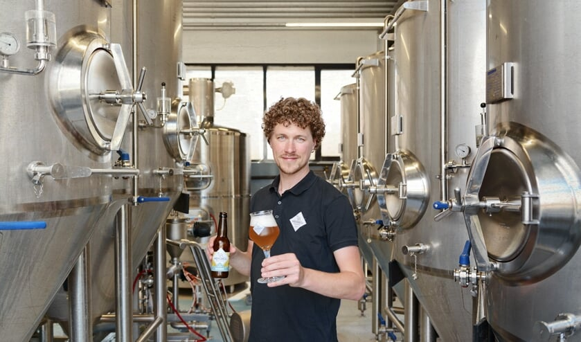Hoftijser bij bierbrouwerij Wentersch. Foto: PR