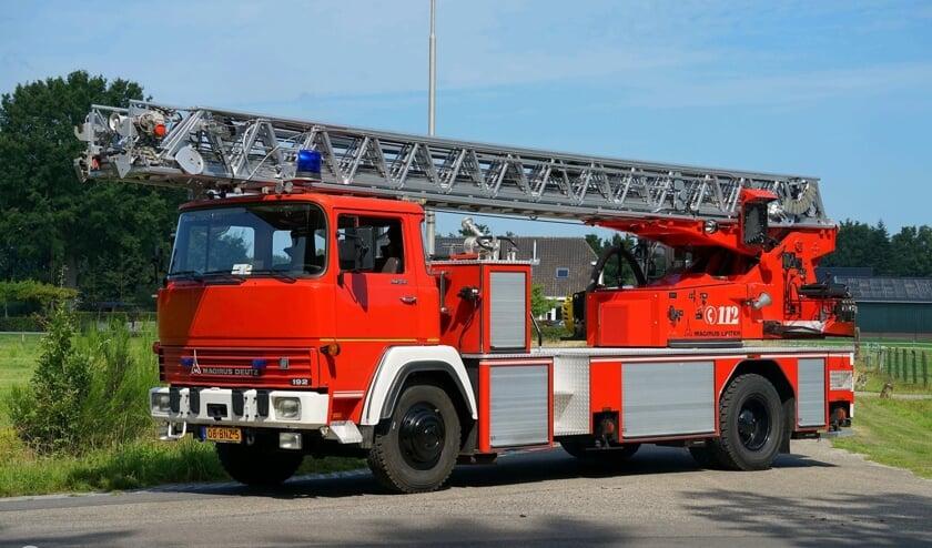 De Magirus Deutz ladderwagen. Foto: PR/GB Fotografie