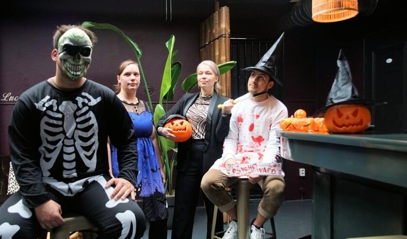 Griezelen tijdens Halloween weekend in Dinxperlo. Foto: Frank Vinkenvleugel