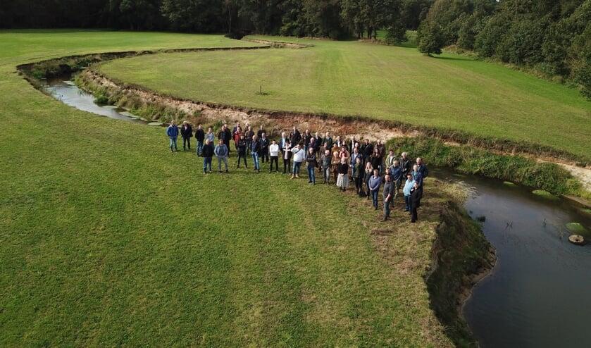 Oplevering Buurserbeek. Foto: PR Waterschap Rijn en IJssel