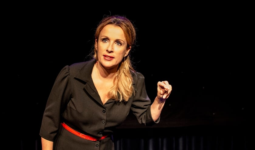 Annick Boer tijdens een voorstelling. Foto: PR