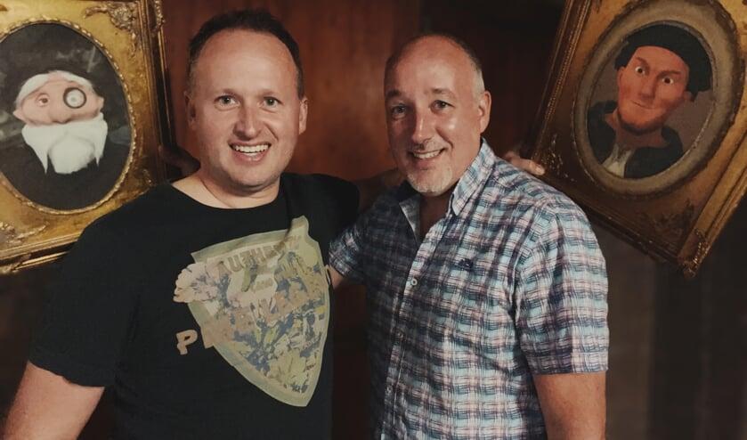 <p>Initiatiefnemers Chris Slagter en Remco de Vries van Storyroom Zutphen. Foto: PR</p>