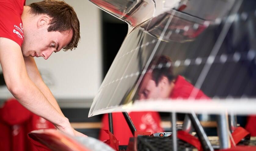 Mark van Eijk, Solar Team Twente. Foto: Bram Berkien