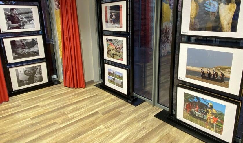 Een deel van de expositie in de bibliotheek. Foto: Bibliotheek Oost-Achterhoek