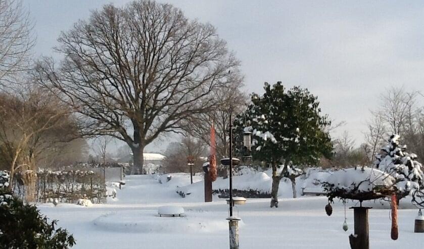 't Meihuus in wintertooi. Foto: PR