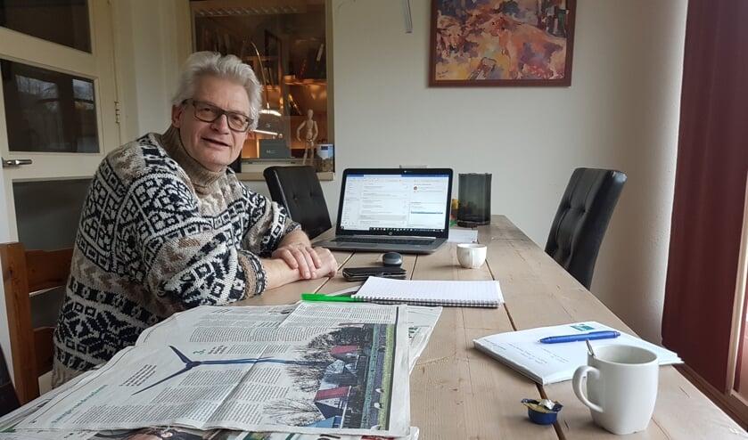 Roel Beunk verdiept zich al jaren in energietransitie. Foto: Mark Ebbers