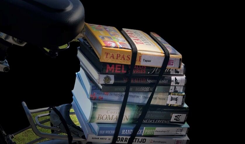 Lever de boeken in. Foto: PR