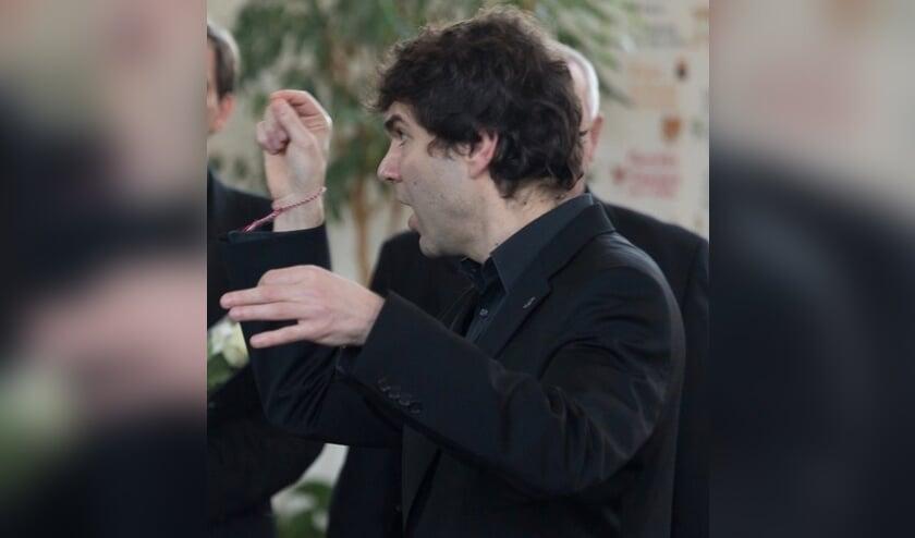 Ivo Boytchev in actie als dirigent. Foto: PR