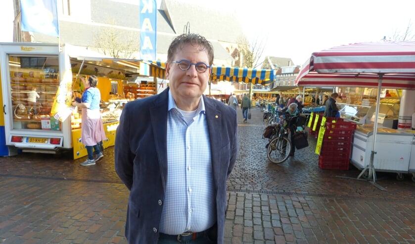 Wethouder Tannemaat komt met plan voor extra steun aan ondernemers. Foto: Bernhard Harfsterkamp