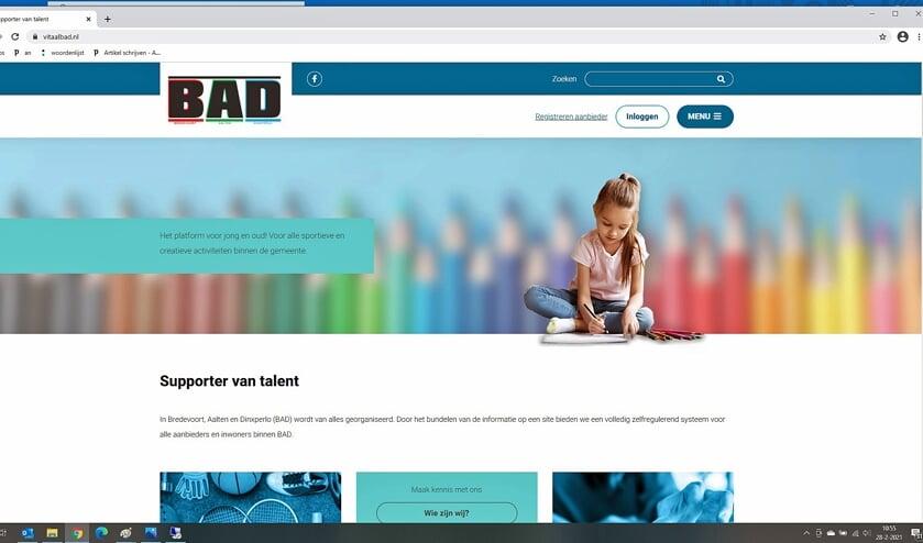Aanmelden als aanbieder voor Sjors Sportief & Creatief kan via de website vitaalbad.nl. Afbeelding: Aalten Vooruit