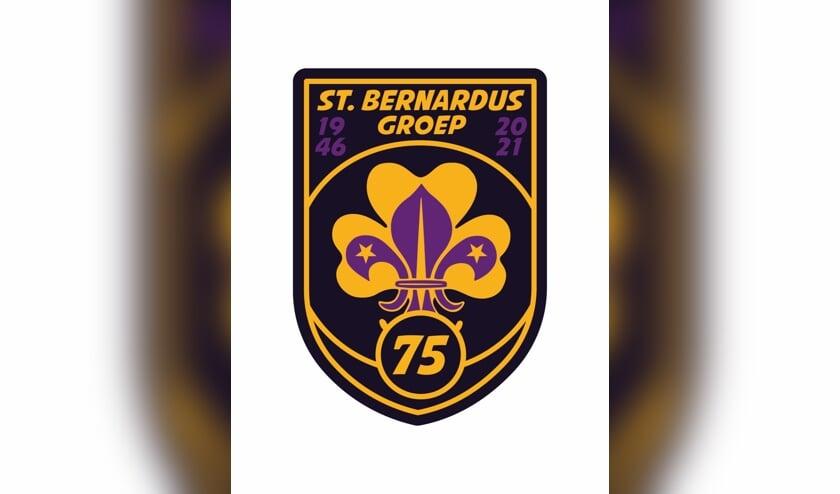 <p>Een speciale herdenkingsinsigne voor de st. Bernardusgroep.</p>