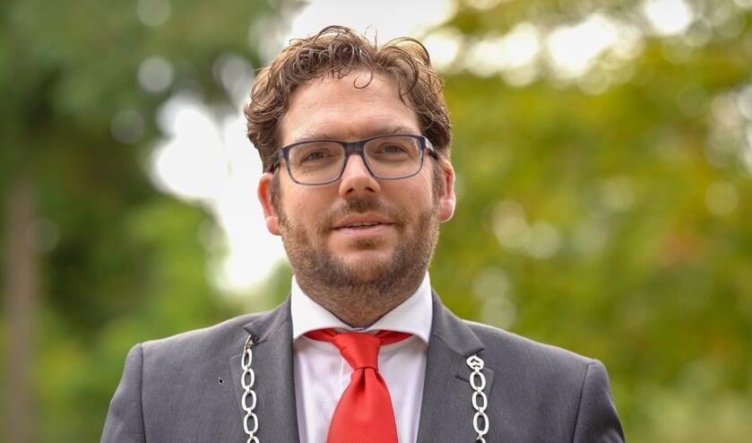 Burgemeester Sebastiaan van 't Erve. Foto: Punkmedia