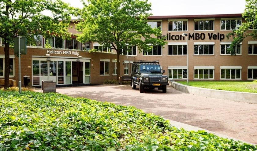 <p>Potenti&euml;le nieuwe studenten mogen sfeer proeven bij Helicon MBO Velp. Foto: PR&nbsp;</p>