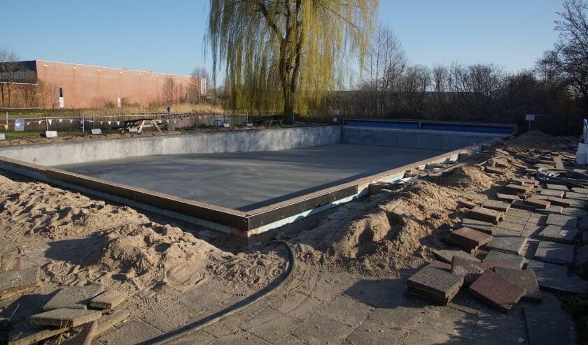 <p>Het bassin is al vernieuwd door Optisport. Foto: Frank Vinkenvleugel</p>