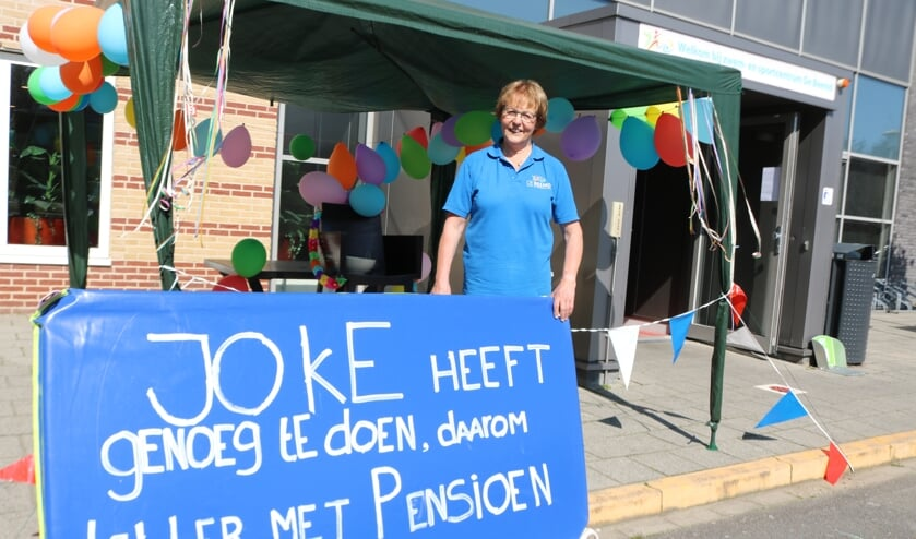 <p>Joke Nijenhuis vertrekt na 27 jaar. Foto: Arjen Dieperink</p>