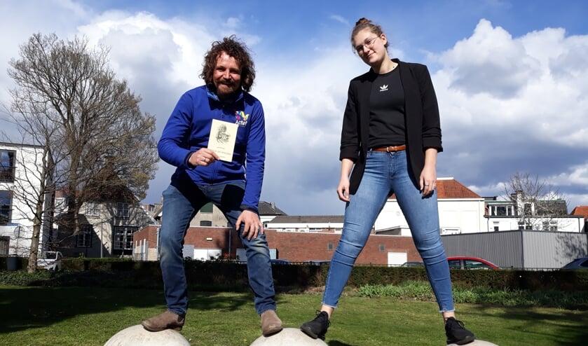 Hans Roerdinkholder en Kim Raben. Foto: Sis Huiskamp