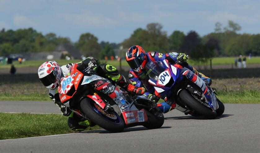 <p>Bian en Schmitz willen strijden om de punten. Foto: Henk Teerink</p>