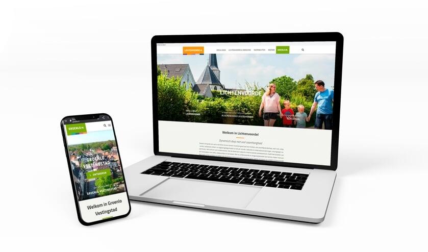 <p>De nieuwe toeristische websites van Lichtenvoorde en Groenlo. </p>