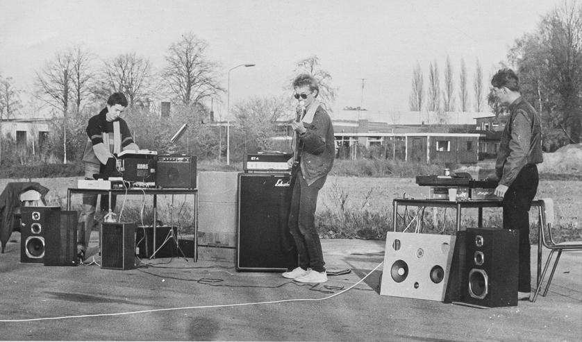 Leckage uit 1983. Foto: Roel Venderbosch