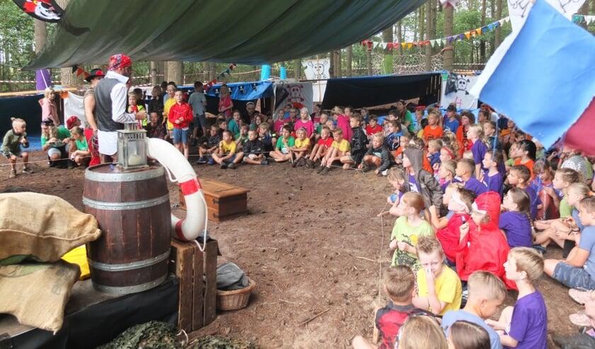 Veel kinderen beleven plezier aan het Kinderdagkamp Eibergen. Foto: PR