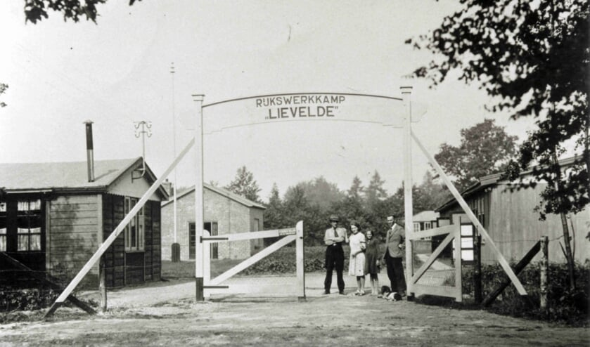 Rijkswerkkamp Lievelde aan de Schansdijk. Foto: Oudheidkundige Vereniging Lichtenvoorde