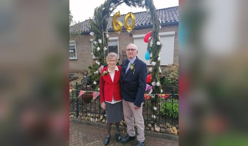 Henk en Jo zijn zestig jaar getrouwd. Foto: PR