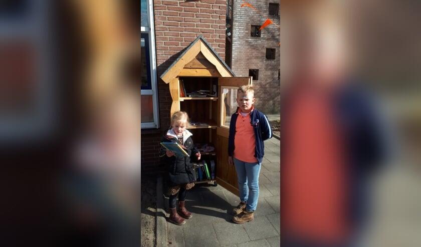 <p>. Sinds kort is Ruurlo een kinderzwerfboekenstation rijker. Foto: PR.&nbsp;</p>